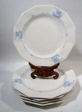 Arts & Crafts Rookwood Pottery Blue Sailing Ships 5 Salad Plates Shipware