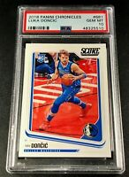 LUKA DONCIC 2018 PANINI CHRONICLES #681 SCORE ROOKIE RC PSA 10