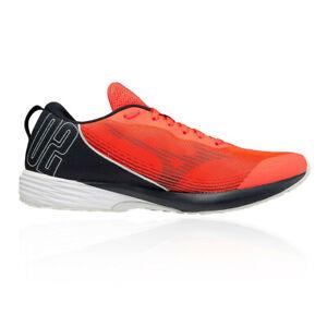Mizuno Duel Sonic 2 Mens Racing Running Shoes Red Black