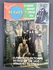 More details for blakes 7 monthly magazine summer special includes centre poster 1982