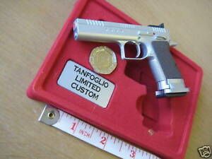 #49 Model Replica Mini Toy GUN TANFOGLIO LIMITED CUSTOM Scale 1:2,5 Diecast