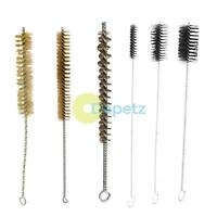 Pipe Flue Cleaning Brush Boiler Radiator Wire Bristle Steel Brushes 260-480mm