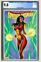 Spider-Woman #1 CGC 9.8 Graded J Scott Campbell Variant Pre Order CGC FAST PASS