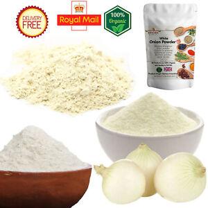 White Onion Powder 100% Natural Organic Spice Best Quality Pure 500g Free P&P UK
