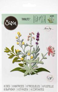 Sizzix Thinlits -  Spring Stems Die Set by Olivia Rose