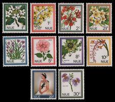 Niue 1969 - Mi-Nr. 99-108 ** - MNH - Blumen / Flowers