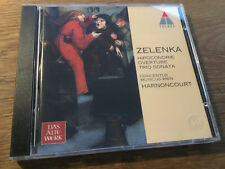 Zelenka - Hipocondrie [CD Album] Teldec Harnoncourt