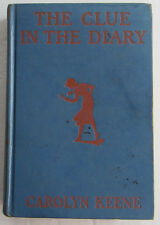Nancy Drew #7 The Clue in the Diary INTRODUCTION of Plain Frontispiece