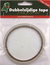 (0,12 €/ Meter) 1 Rolle doppelseitiges Klebeband 3 mm breit