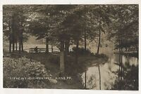 RPPC Evergreen Park KANE PA 1908 McKean County Pennsylvania Real Photo Postcard