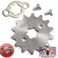 420 14T 17mm Front Chain Sprocket 50cc 70cc 90cc 110cc 125cc Pit Dirt Bike ATV