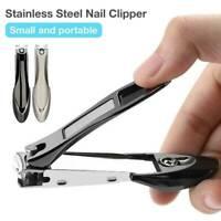 Anti-splash ManicureToe Nail Clippers Nippers Cutter Chiropody Heavy Duty Art