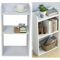 3 Shelf Bookcase Wooden Storage Bookshelf Shelves Home Office Organizer Cabinet