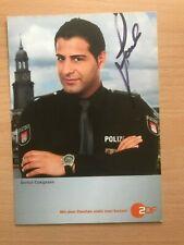 Serhat Cokgezen Notruf Hafenkante Autogrammkarte orig. signiert +2179