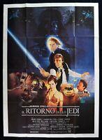 Poster Die Rückkehr Die Jedi Star Wars 1 Ausgabe Italienisch 1983 M303