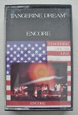 Very Rare 1977 Tangerine Dream Live Encore Cassette, Virgin Music TCVD 2506