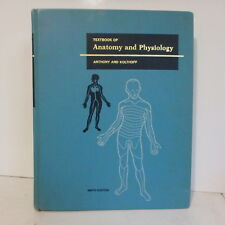 Vintage Textbook of Anatomy and Physiology Anthony & Kolthoff Ninth Edition 1975