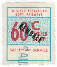 (I.B) Australia - Western Australia Railways : Parcels 60c (Kewdale)