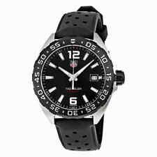 Tag Heuer Men's Formula 1 41mm Black Rubber Band Quartz Watch Waz1110.ft8023