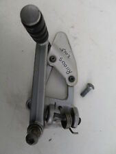 GEAR LEVER AND FOOT REST PLATE BMW R1100S 2005 PART NR 23412333352/46712331235.