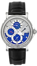 Paul Picot Atelier Stainless Steel & Blue Dial Chronometer 42mm Automatic Watch