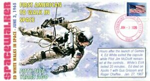 COVERSCAPE computer designed 55th Ed White NASA 1st Spacewalk event cover