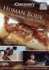 HUMAN BODY PUSHING THE LIMITS - 4 DVD BOX SET - NEW READER'S DIGEST / DISCOVERY