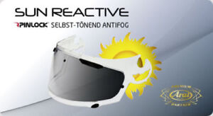 Arai Helm Pinlock Tour-X  Sun Reactive selbsttönend Protectint  TX2-3-4