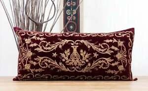 """Bindalli Pillow Cover Lumbar Pillow 15.55"""" x 32.28"""" OLD FAST Shipment UPS 12076"""