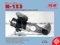 Icm 1/72 Polikarpov I-153 2nd Guerre Mondiale Finlandais Force Aérienne de