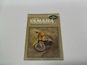 Clymer M410 Yamaha 80-175cc Enduro & Motocross 1968-1978 Service Repair Manual.