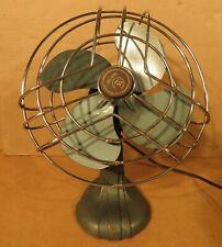 """Vintage Westinghouse Art Deco  Cast Iron Base 8"""" Electric Fan"""