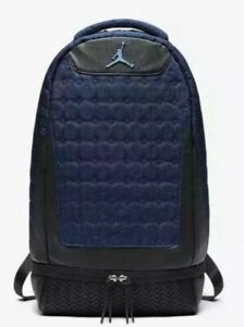 NEW Nike Air Jordan Retro 13 XIII Backpack Midnight Navy Black 9A1898 007