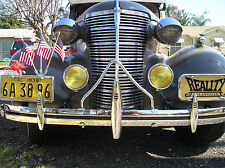 New 30s Car Truck Vintage Style Chrome Bumper A Bar 39 38 37 36 35 Chevy Fits More Than One Vehicle