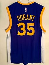 Adidas NBA Jersey Golden State Warriors Kevin Durant Blue sz M