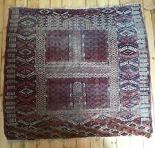 Antique Turkoman Turkmen Oriental Tekke Ensi Rug Natural Colours Country House