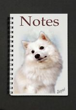 Japanese Spitz Notebook/Notepad with a small image on every page - by Starprint