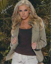 "Kayla Collins Playboy Girls Next Store Signed Photo 8x10 39 centerfold Aug 08"""