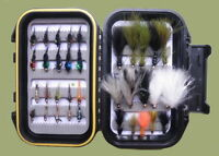 Goldhead Trout flies, 35 Per Box, Mixed Lure & Nymphs, BOX12, Fly Fishing