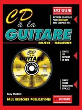 Cd a la Guitare Solfege/tablatures - Tony March Edition Paul Beuscher (sans Cd)