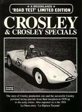 CROSLEY CAR BOOK HOTSHOT PICKUP BROOKLANDS SEDAN HOT SHOT WAGON RACING PORTFOLIO