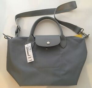 Longchamp Le Pliage Neo Bag Grey Cement