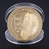 Gold überzogene Münzen Sphinx-Münzen-Sammlung-Geschenk-Herausforderung-Münze FAB