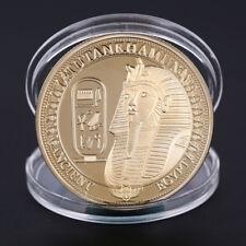 Pièces plaqué or antique Egypte Sphinx pièces pour cadeau de collection