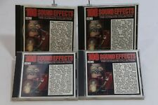 100 Sound Effects Vol 1 2 3 4  CD C-5611 Madacy inc. Sonic Boom Train Car Fire