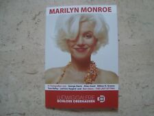 Marilyn Monroe RARE exclusive gallery exhibition BERT STERN catalog photo Book