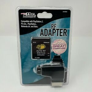 Get Into the Game RF Adapter for PlayStation 1 & 2 Nintendo 64 GameCube Xbox