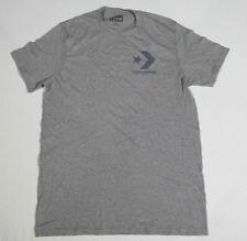 NUEVO All Star Converse Camiseta Camisa Para Hombres Chucks GRIS T. M 18 #237