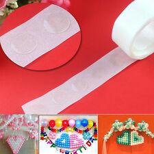 EG _ 100 pois 1 rouleau colle pois aluminium Ballons Photo Fête d'anniversaire