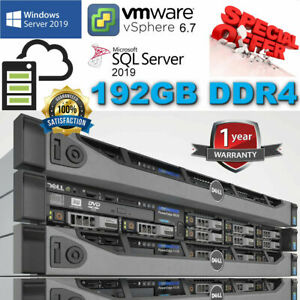 Dell PowerEdge R630 2x E5-2670v3 2.30Ghz 12Core 192GB DDR4 H730 Mini 8TB SAS 6G